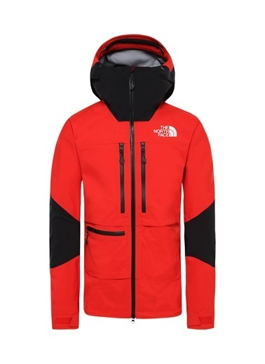The North Face Summit L5 Erkek Mont Siyah/Kırmızı Kırmızı